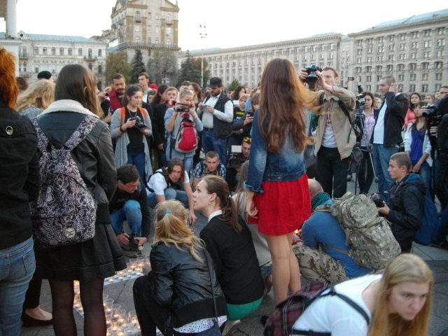 Акція пам'яті Гонгадзе у Києві
